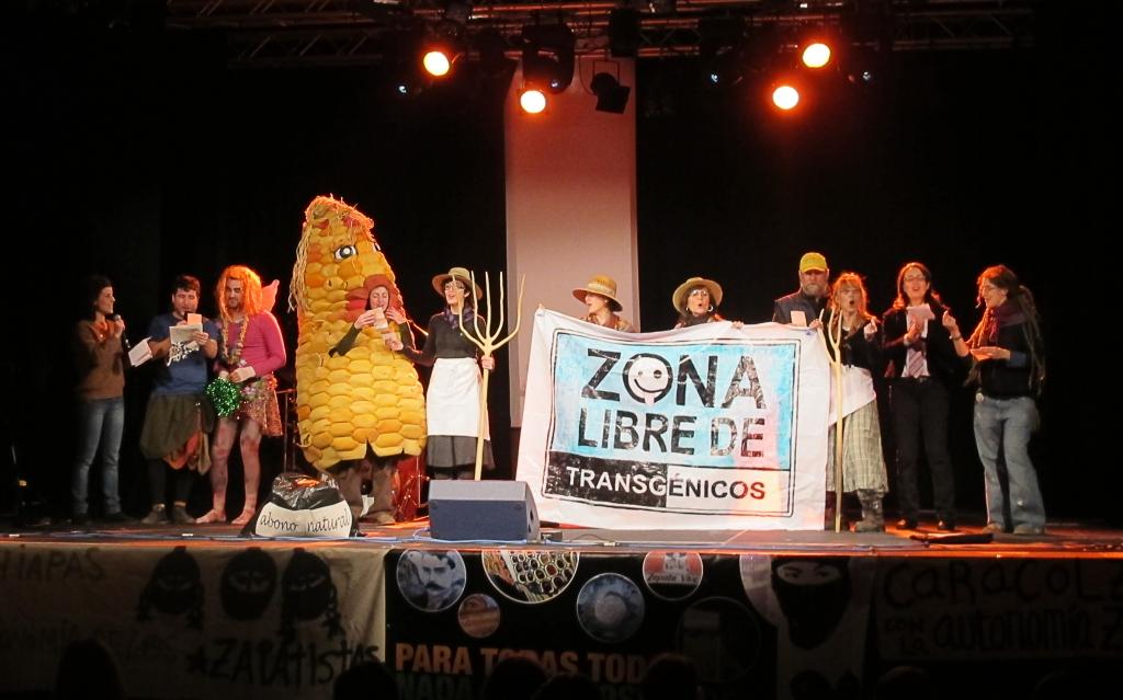 Festival Chiapas - Movimiento Aragón sin Transgénicos