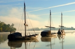 Traditional wood boats (Loire river) - Batellerie traditionnelle