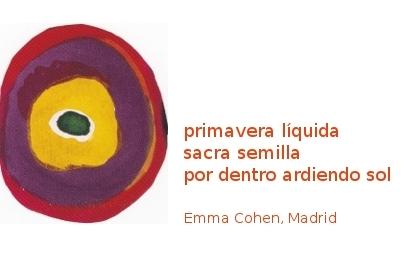 Emma Cohen, Madrid