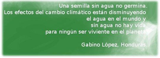 Gabino López, Honduras