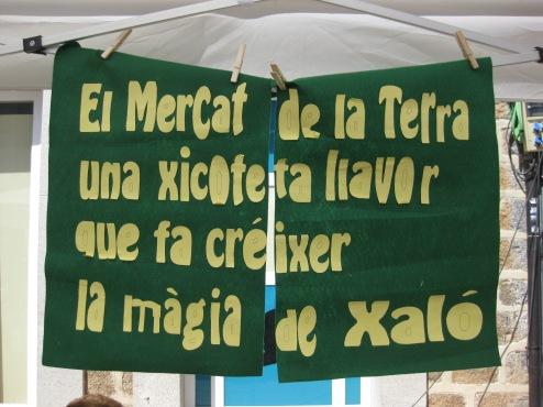 Mercado de la Tierra, una pequeña semillas que hace crecer la magia de Xaló. Patricia Dopazo, Alacant
